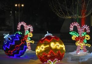 Коледна декорация - Благоевград от Events&Decor Diamanti