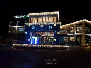 Коледна декорация Park and Spa Hotel Markovo