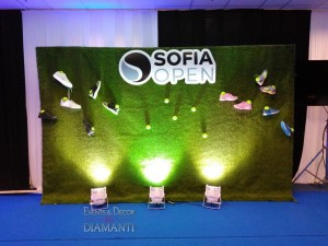 Sofia Open 2019 от Events&Decor Diamanti