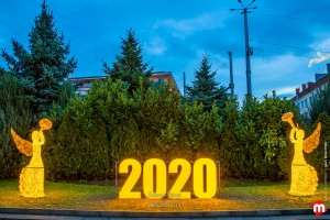 Коледна декорация - Казанлък 2019/2020