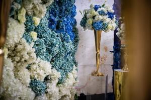 Тематичен юбилей в нюанси на синьо - Лия и Мустаф