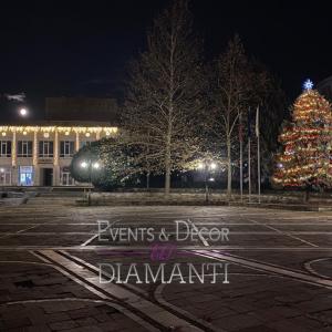 Коледна декорация Момчилград