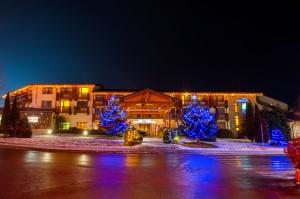 Коледна декорация - хотел Стражите, гр. Банско 2017г