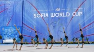 """Световно по художествена гимнастика """"Арена Армеец"""
