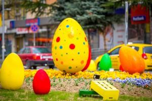 Великденска декорация - гр. Благоевград 2017г.
