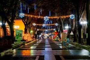 Коледна декорация - гр. Велинград 2017г