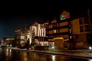 Коледна декорация - хотел Банско, 2017г.
