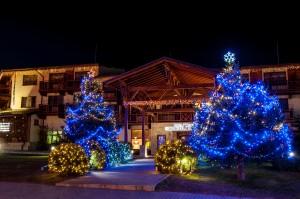 Коледна украса на Община Банско 2016г_
