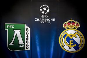 Футболен мач Лудогорец - Реал Мадрид